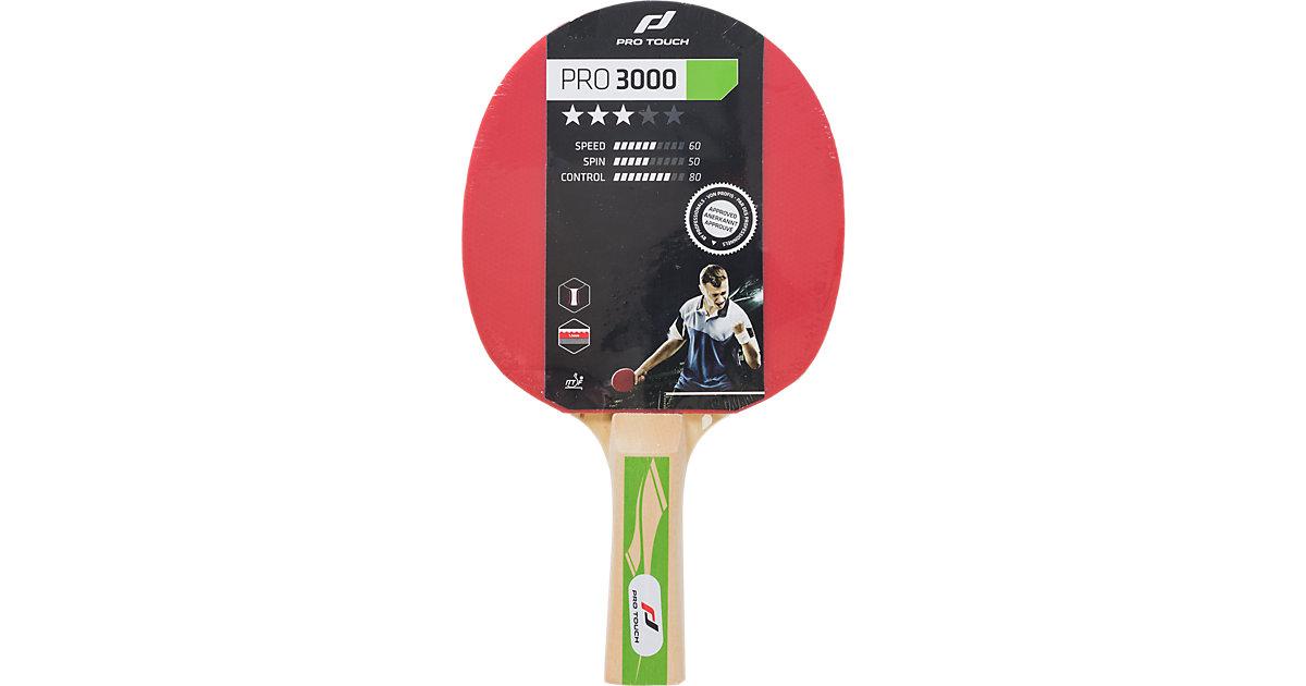 Tischtennis-Schläger Pro 3000 schwarz/rot