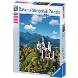 """Пазл """"Замок Нойшванштайн"""" Ravensburger, 1000 деталей"""