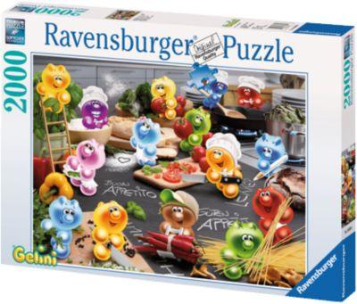 Puzzle 2000 Teile Gelini ´´Küche, Kochen, Leidenschaft´´