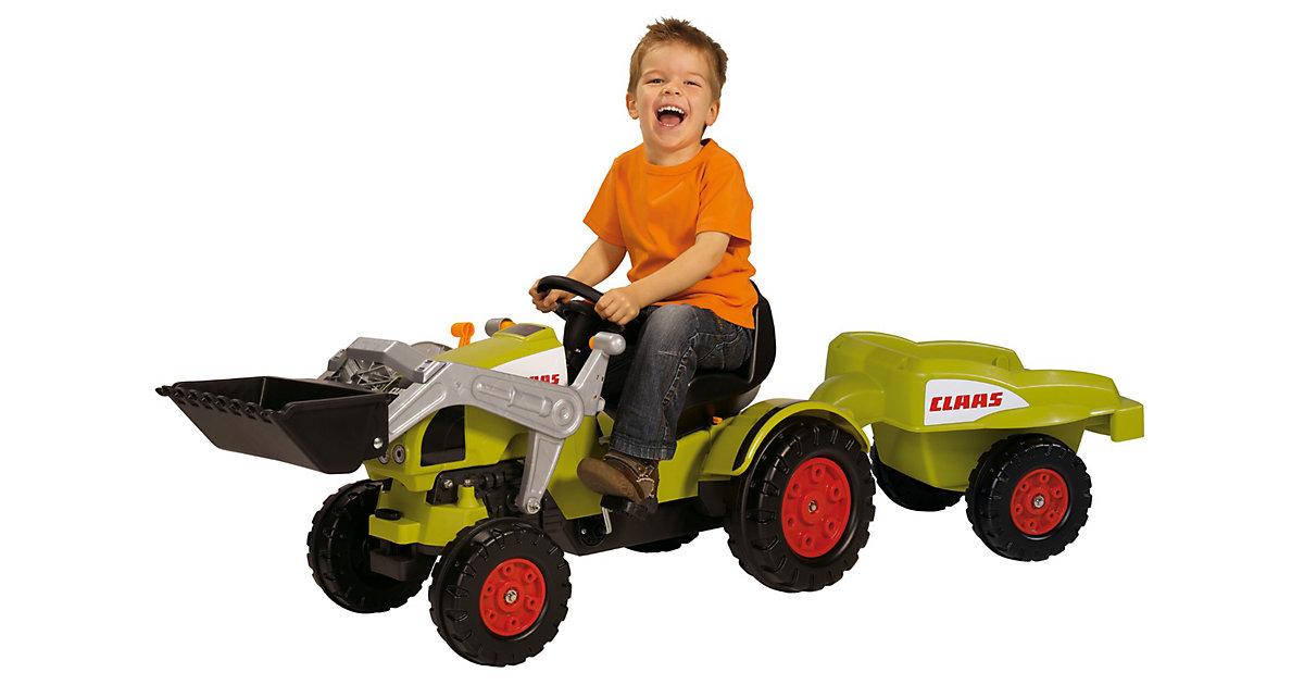 BIG Traktor CLAAS Celtis Loader mit Anhänger