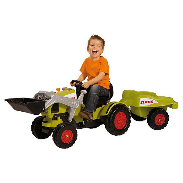 Big traktor claas celtis loader mit anhänger mytoys