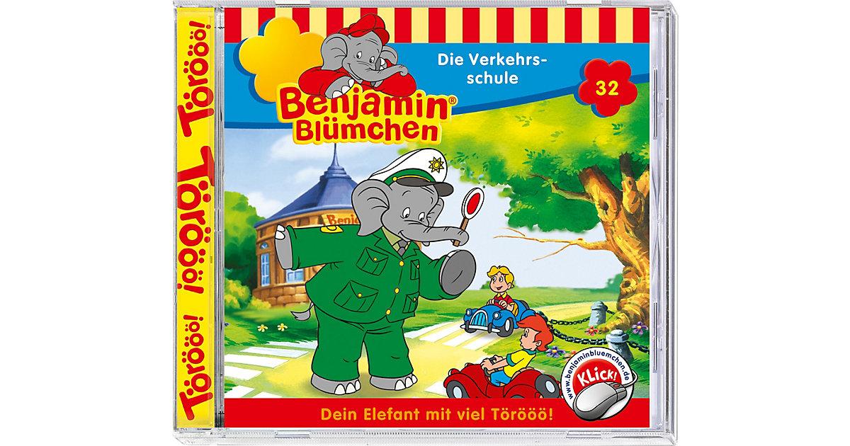 CD Benjamin Blümchen 32 - Die Verkehrsschule Hörbuch