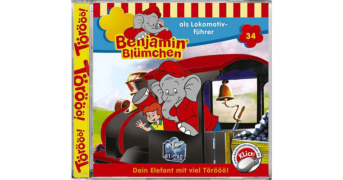 CD Benjamin Blümchen 34 - ... als Lokomotivführer Hörbuch