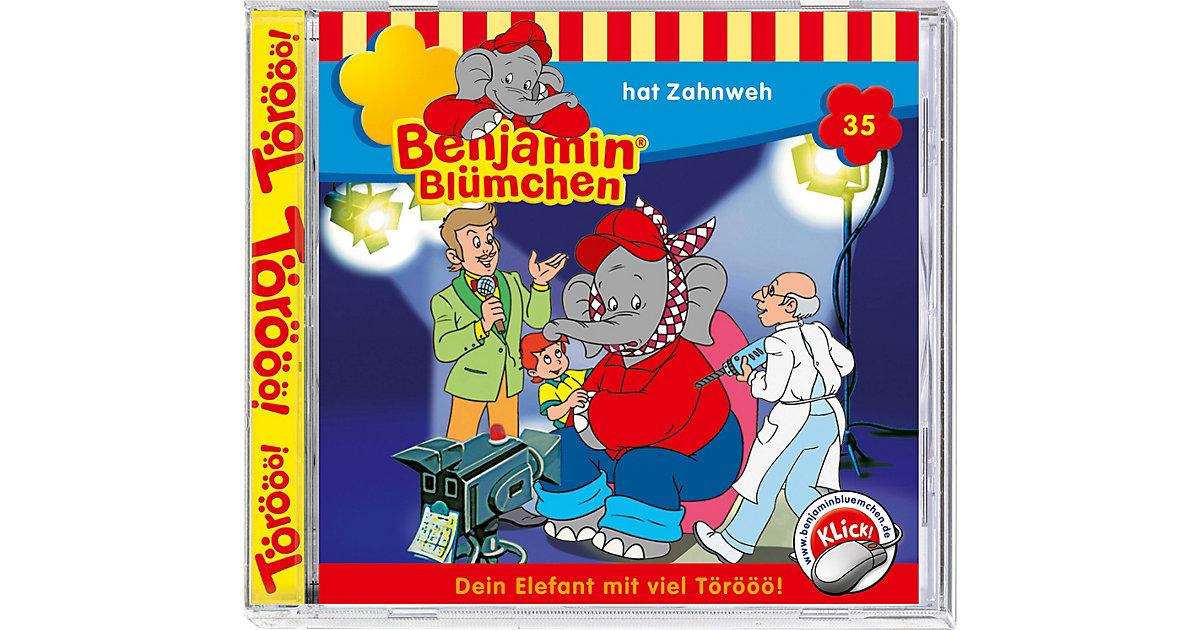 CD Benjamin Blümchen 35 -...hat Zahnweh Hörbuch