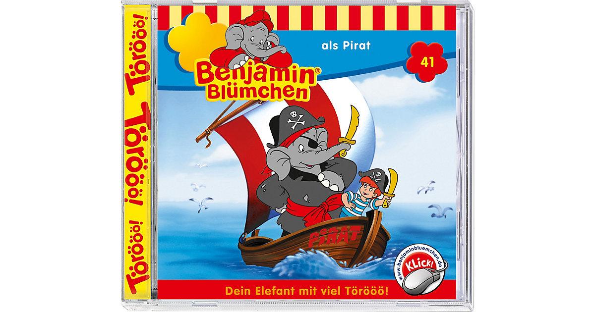CD Benjamin Blümchen 41 - als Pirat Hörbuch