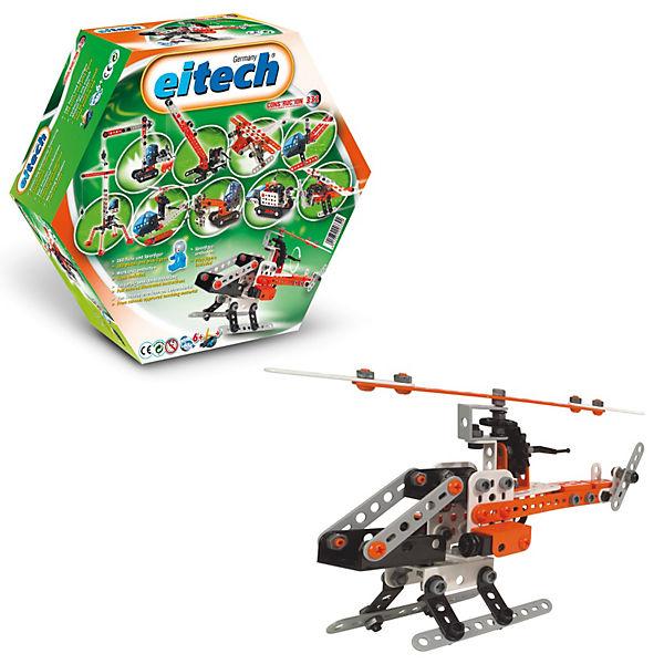 """Конструктор Eitech """"Вертолет"""", 280 деталей"""