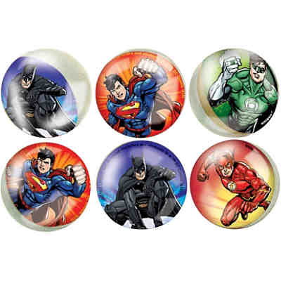 Favours Springbälle,  Justice League, 6 Stk.