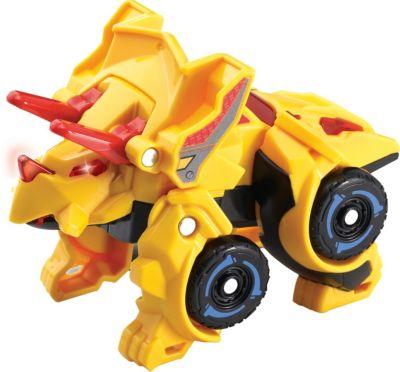 Switch & Go Dinos - Mini-Triceratops gelb
