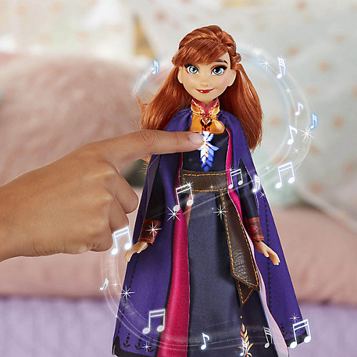 """Поющая кукла """"Холодное сердце 2"""" Анна от Hasbro"""