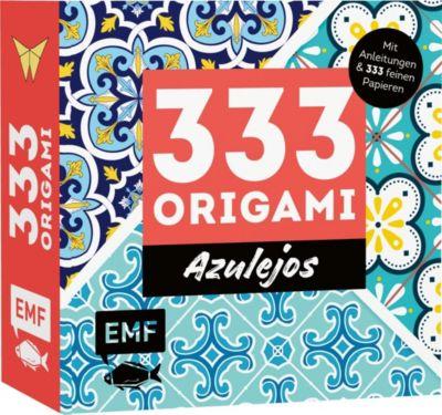 Buch - 333 Origami - Azulejos: Zauberhafte Muster, marrokanische Farbwelten