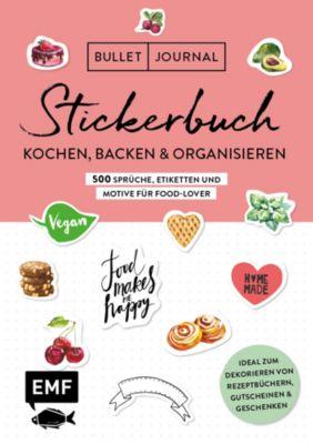 Buch - Bullet Journal - Stickerbuch: Kochen, Backen & Organisieren