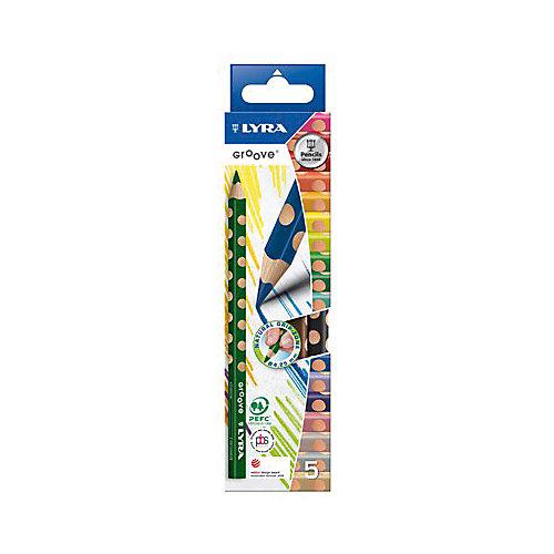Утолщенные цветные карандаши, 5 шт. от LYRA