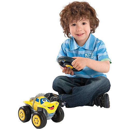 """Машинка """"Билли-большие колеса"""", желтая, Chicco от CHICCO"""