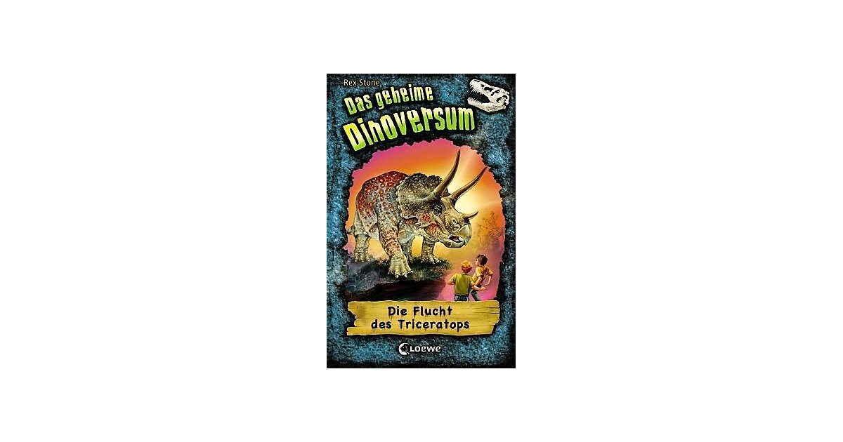 Das geheime Dinoversum: Die Flucht des Triceratops