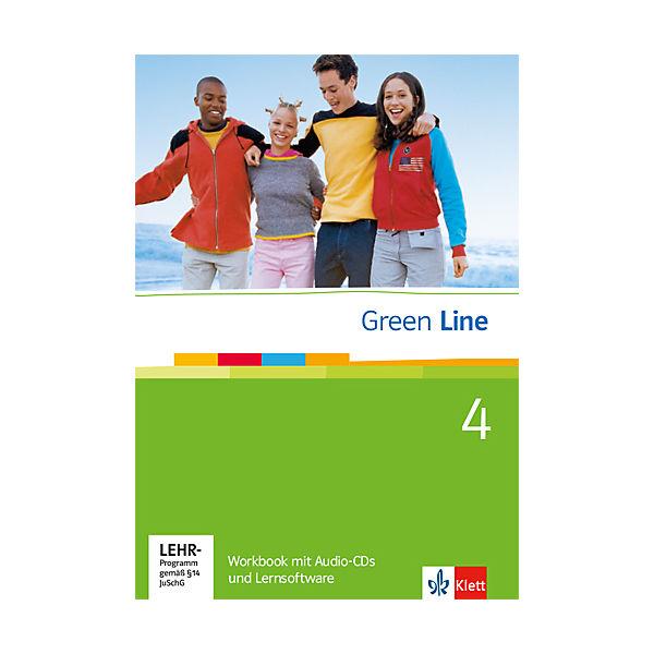 green line neue ausgabe f r gymnasien workbook m 2 audio cds u cd rom klett verlag mytoys. Black Bedroom Furniture Sets. Home Design Ideas