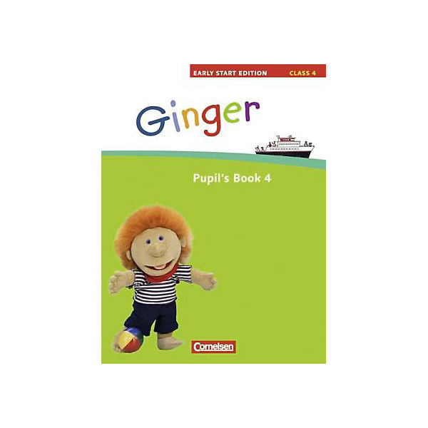 Ginger - Early Start Edition: Class 4, Pupil's Book