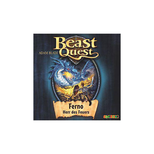 Beast Quest: Ferno, Herr des Feuers, Audio-CD