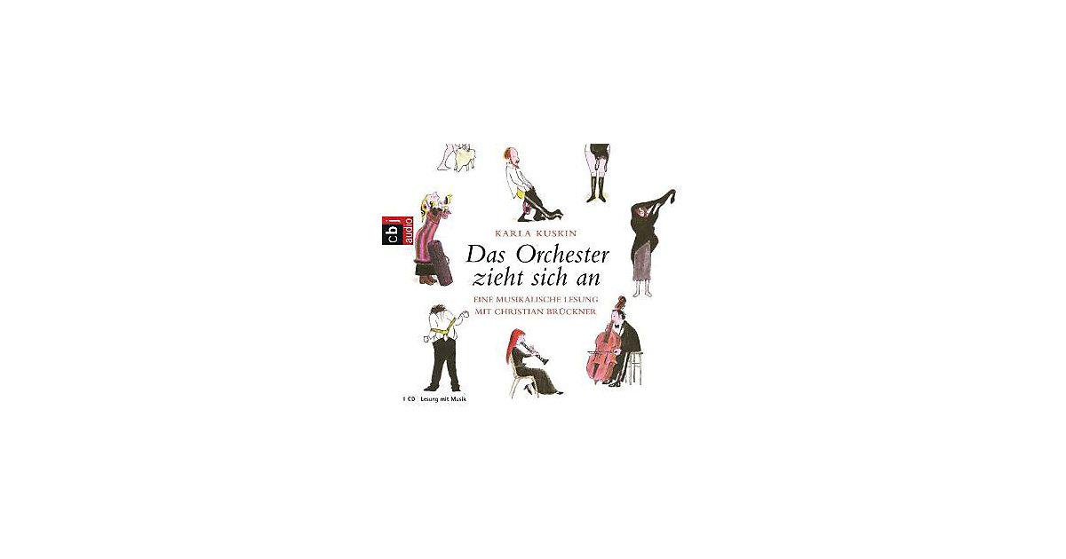 Das Orchester zieht sich an, 1 Audio-CD