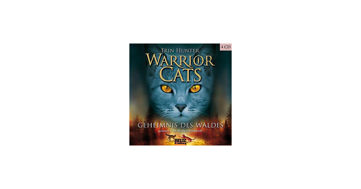 Warrior Cats: Geheimnis des Waldes, 5 Audio-CDs