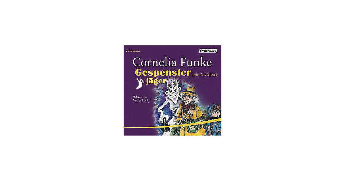 Gespensterjäger in der Gruselburg, 2 Audio-CDs Hörbuch