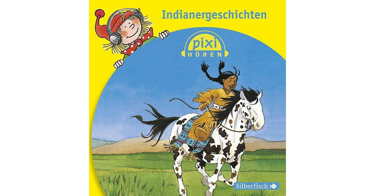 Pixi hören: Indianergeschichten, 1 Audio-CD Hörbuch