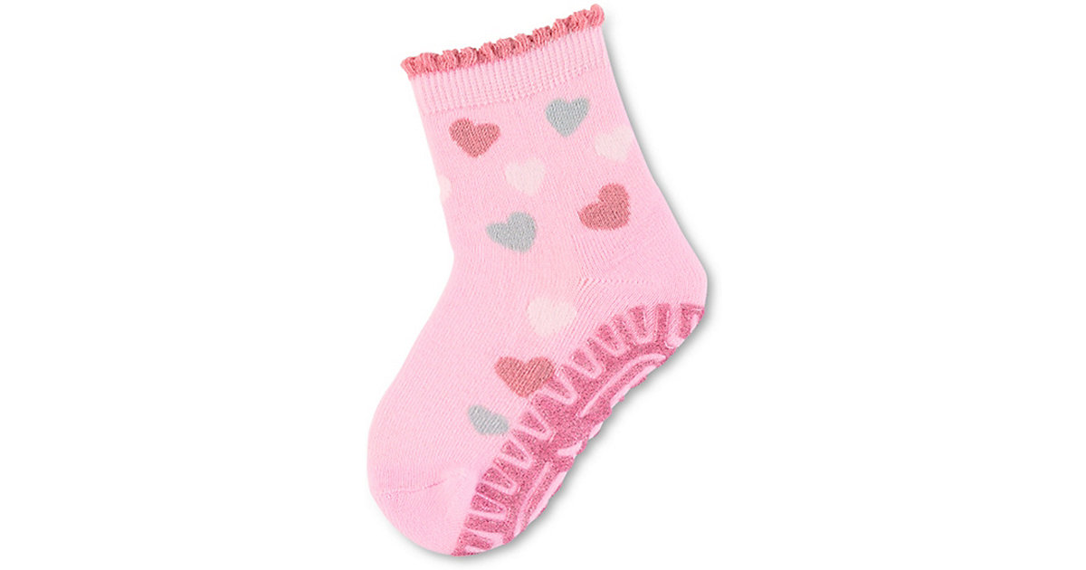 Haussocken  rosa Gr. 18 Mädchen Baby
