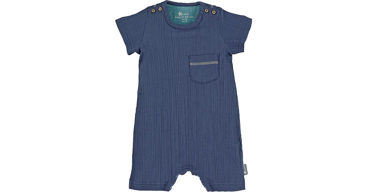 Strampler  blau Gr. 56 Jungen Baby