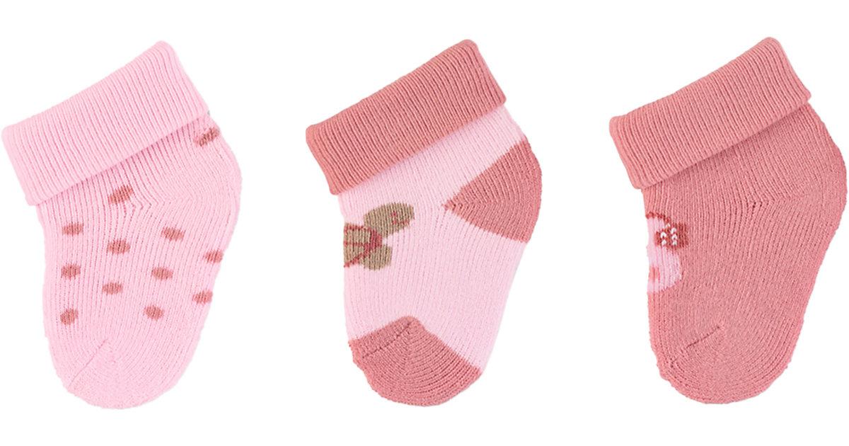 Baby Erstlingssöckchen rosa Gr. one size Mädchen Kinder