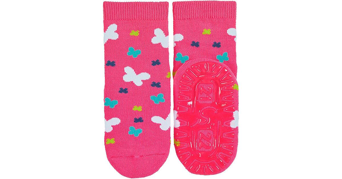 Haussocken  pink Gr. 18 Mädchen Baby