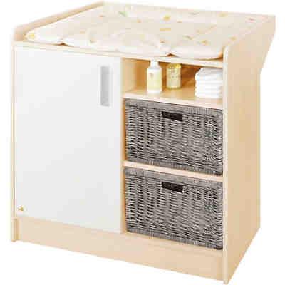 kleiderschrank florian ahorn creme pinolino mytoys. Black Bedroom Furniture Sets. Home Design Ideas