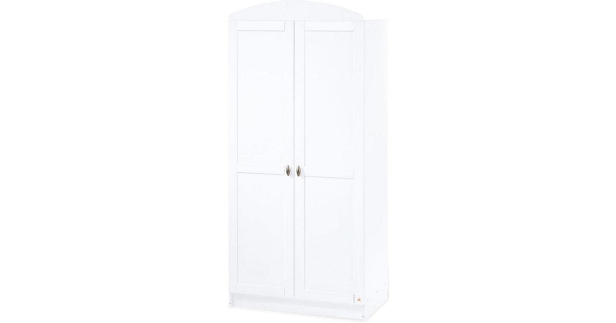 Kleiderschrank LAURA, 2-türig, Weiß
