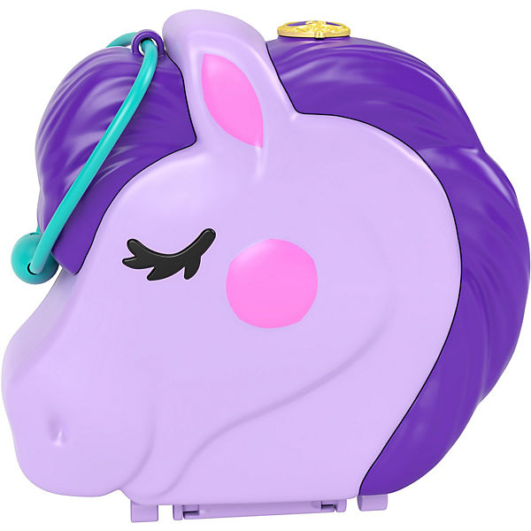 Polly Pocket Pony-Springspass Schatulle