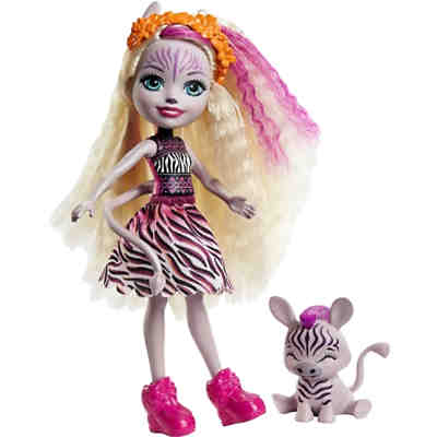 Enchantimals Zadie Zebra Puppe