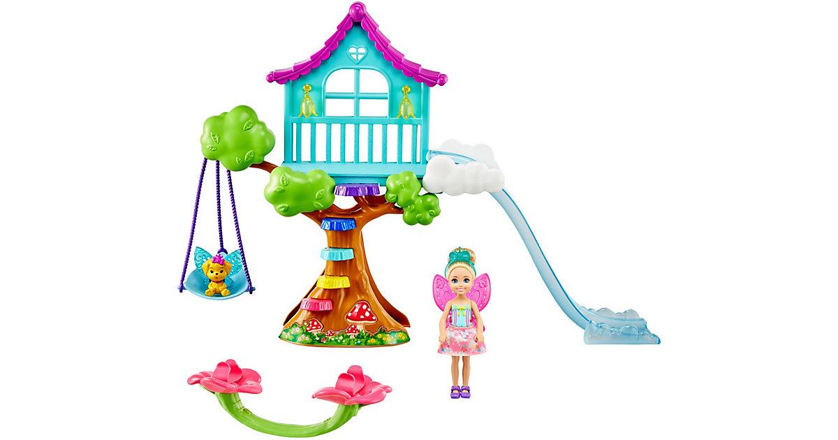 Barbie Dreamtopia Chelsea Regenbogen-Schaukel-Spielset mit Puppe