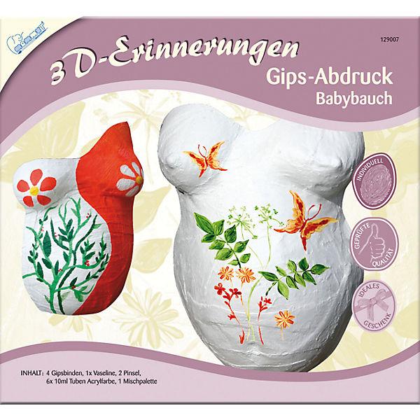 3D-Erinnerungen Abdruckset Babybauch, inkl. Farben, MAMMUT Spiel und ...