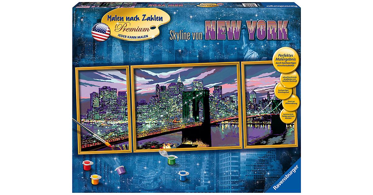 Malen nach Zahlen Premium - Skyline von New Yor...