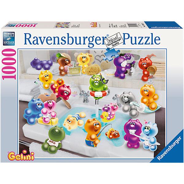 Puzzle 1000 Teile 70x50 Cm Gelini Badespass Ravensburger