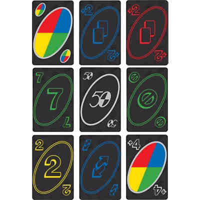 UNO 50th Premium Jubiläumsedition Kartenspiel