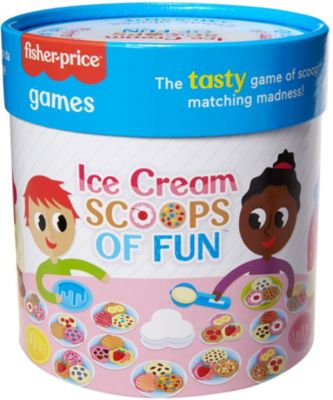 Fisher-Price Games Ice Creem Scoops of Fun