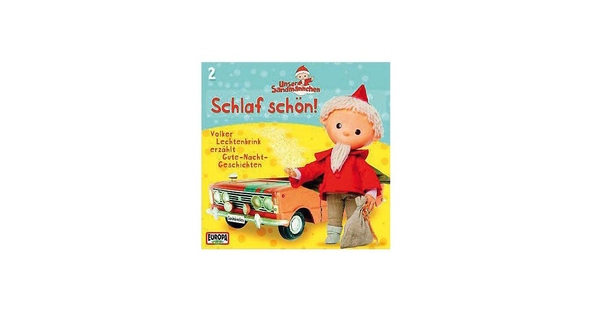 CD Sandmännchen 02 - Schlaf schön Hörbuch