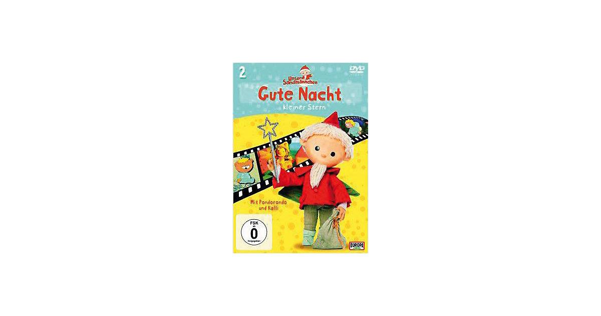 DVD Sandmännchen 2 - Gute Nacht, kleiner Stern Hörbuch