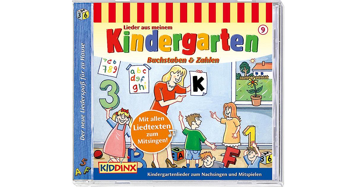 CD Kindergartenlieder - Buchstaben und Zahlen