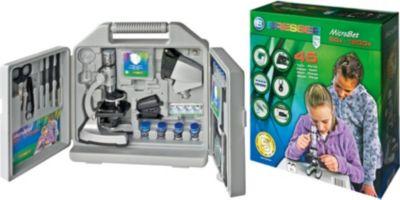 Mikroskop-Set 300x-1200x mit Koffer