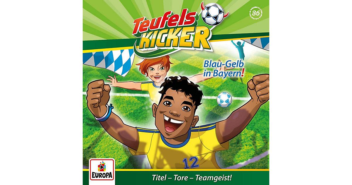 CD Die Teufelskicker 86 - Blau-Gelb in Bayern! Hörbuch
