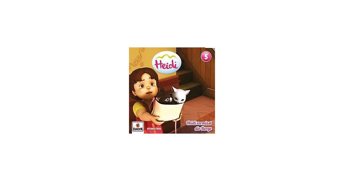 CD Heidi F05- Heidi vermisst die Berge Hörbuch