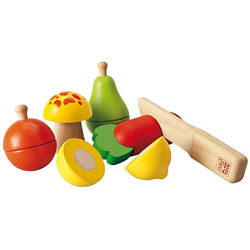 PLAN TOYS 5337 Набор фруктов и овощей от Plan Toys