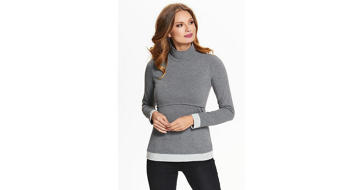 Still-Shirt Mailin Stillshirts grau Gr. 48/50 Damen Erwachsene