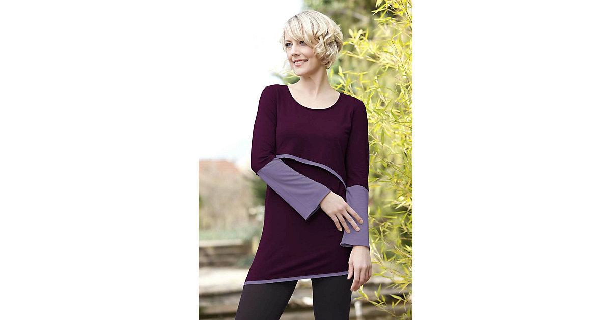 Stillshirt Luna Stillshirts rot/lila Gr. 40/42 Damen Erwachsene