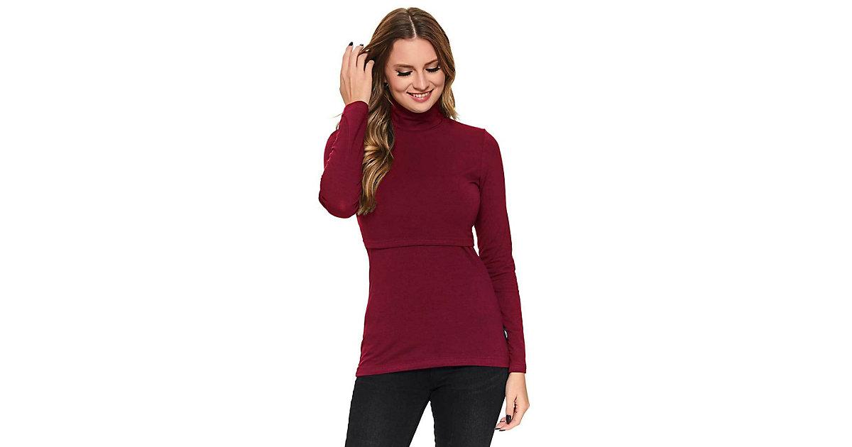 Stillshirt Emilia Stillshirts rot Gr. 34/38 Damen Erwachsene