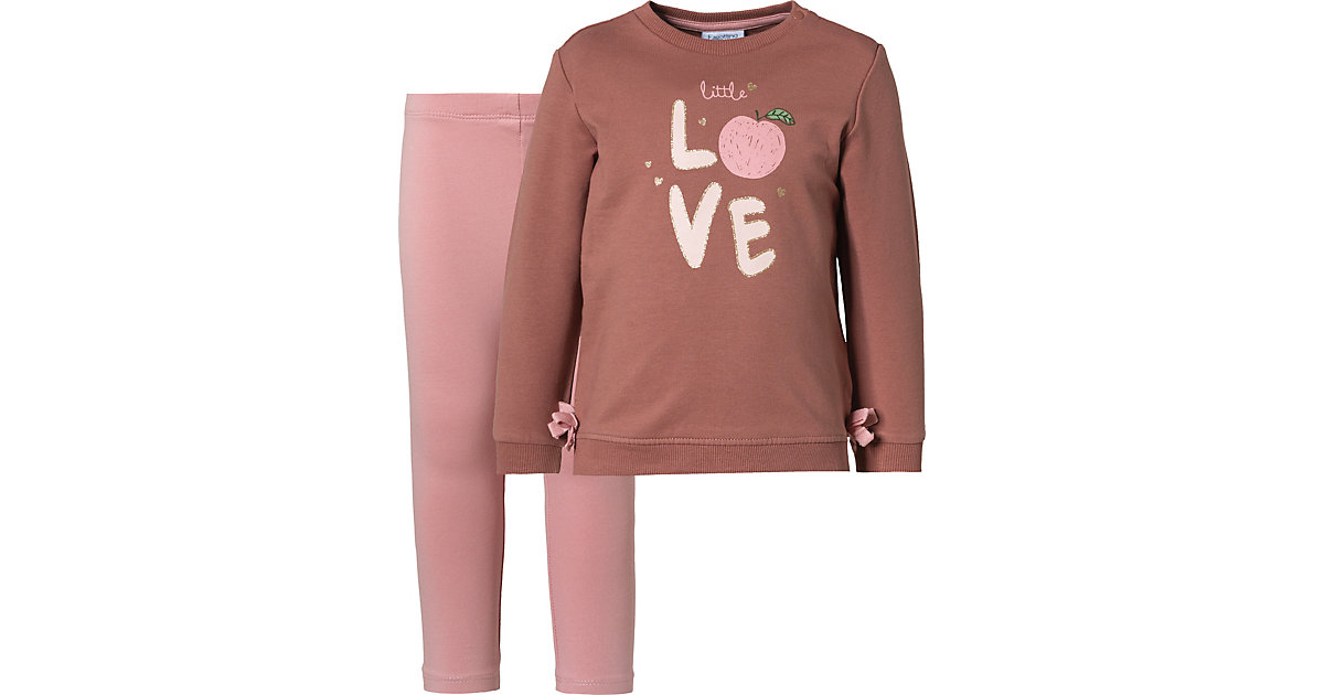 Baby Jogginganzug TURLENECK  pink Gr. 80 Mädchen Kinder
